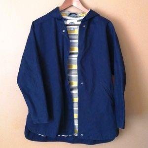 Old navy marine blue light coat